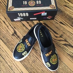 New DKNY slip on sneakers